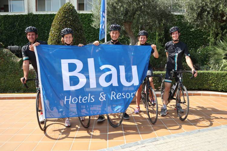 велотуризм blau punta reina family resort майорка