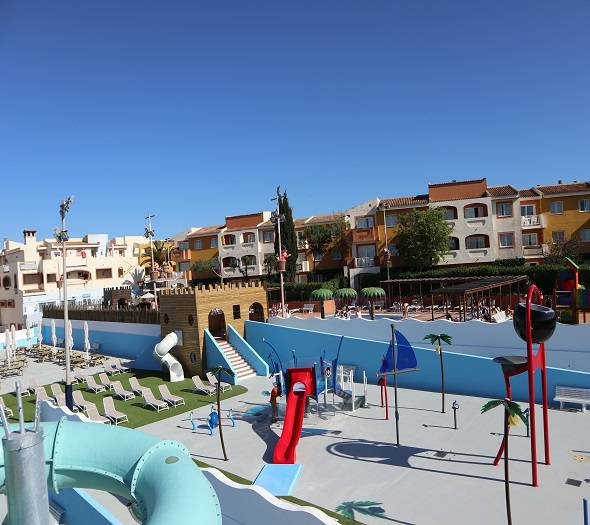 Splash park blau punta reina family resort majorca