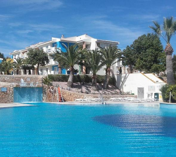 Outdoor pools blau punta reina family resort majorca